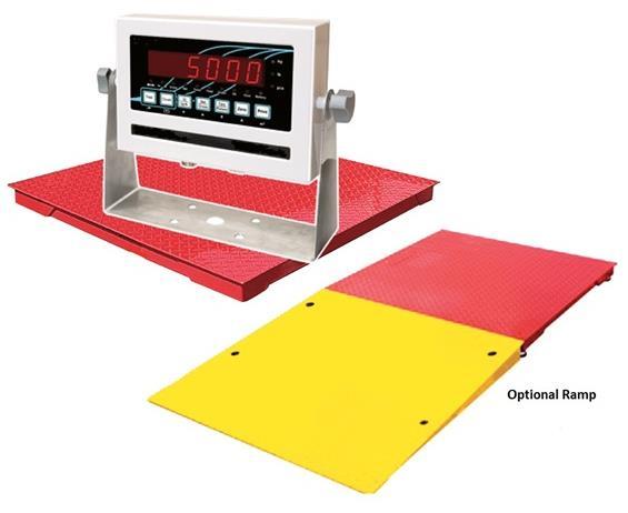 Heavy Capacity Low-Profile Floor Scales