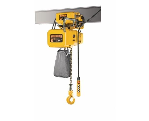 HIGH CAPACITY ELECTRIC HOIST WITH MOTORIZED TROLLEY