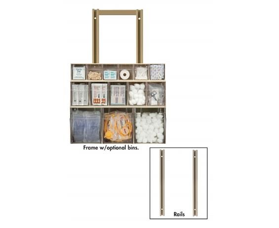 TILTVIEW™ WALL MOUNT FRAMES AND RAILS
