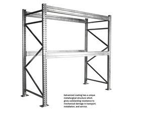 GALVANIZED STEEL PALLET RACK SYSTEMS