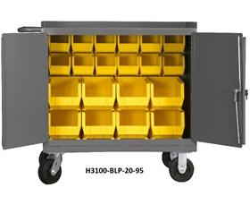 """36"""" WIDE MOBILE BENCH CABINETS"""