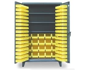 BIN CABINETS WITH 3 SHELVES
