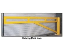 ROTATING DOCK GATES